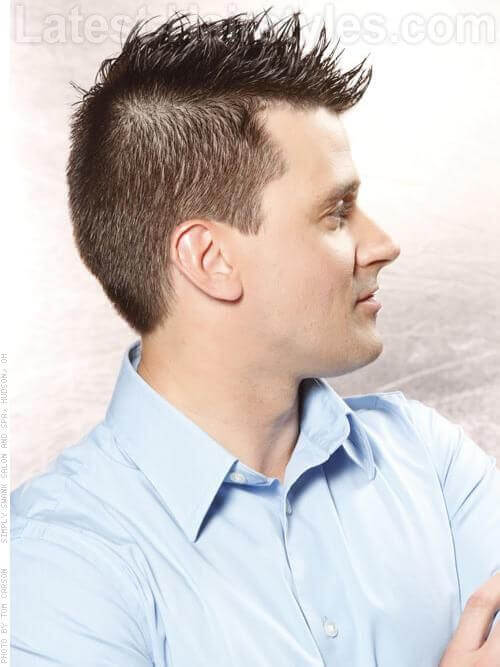 Короткие стрижки для мужчин с текстурой