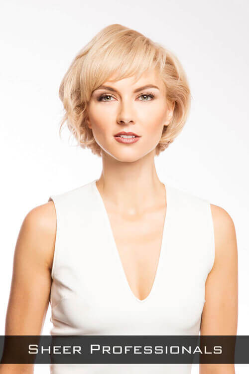 Short Hairstyle with Fringe and Volume