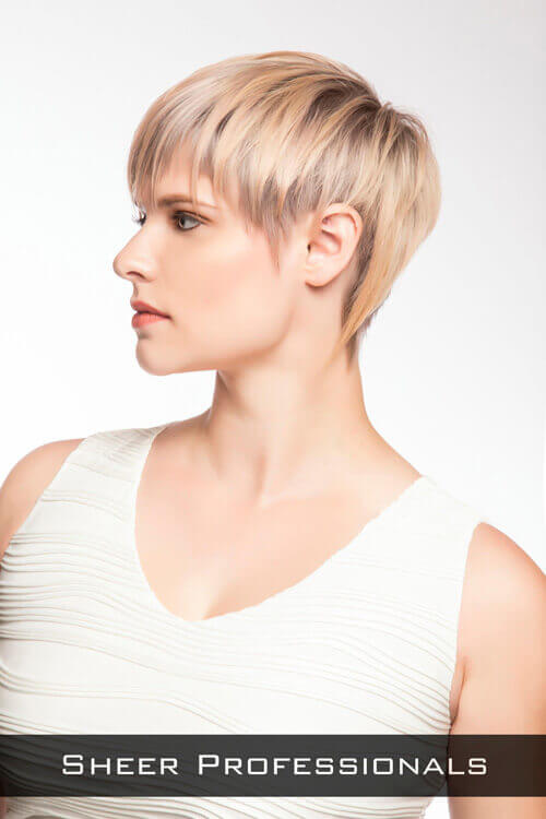 Short Layered Hairstyle with Movement Side