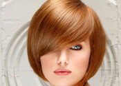 Sweet Rounded Bob Hairstyle