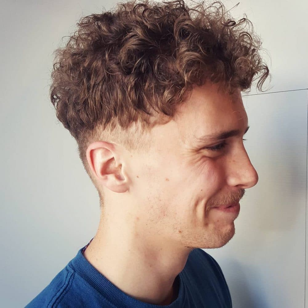 34 best men's hairstyles for curly hair (trending in 2019)
