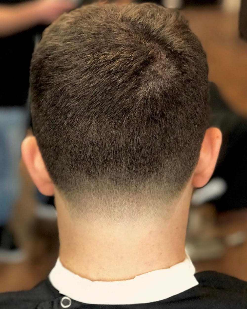 Tapered Neck hairstyle