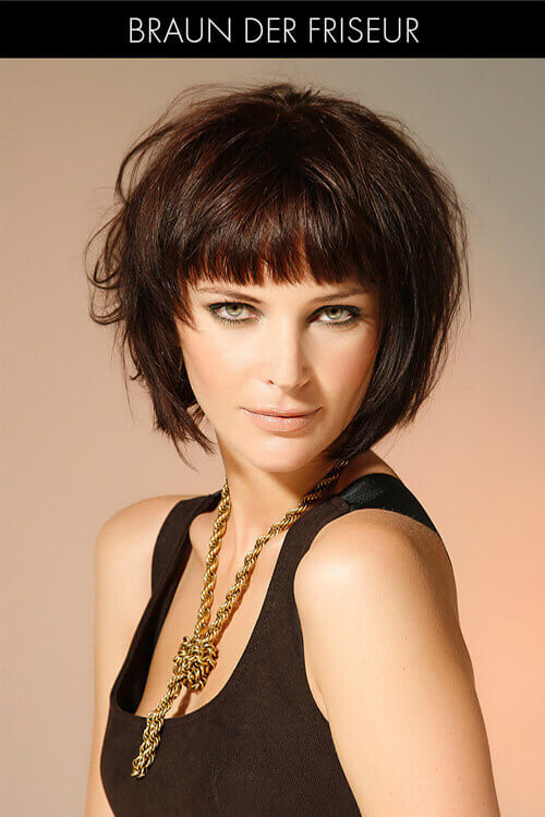 Textured Trendy Bob Haircut