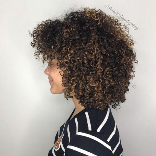 Voluminous Round Bob hairstyle