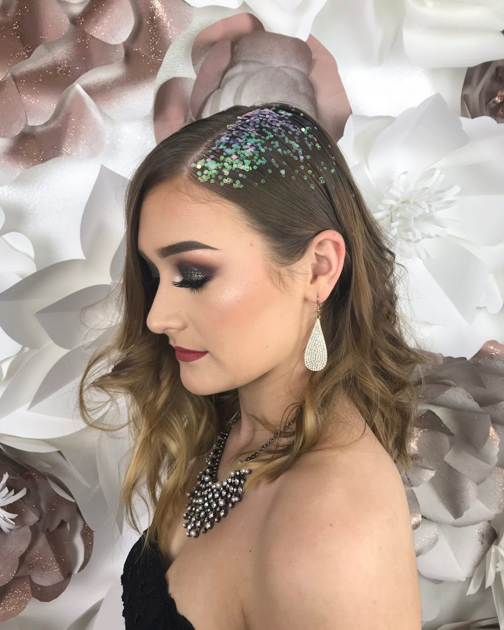 Adaptable Glamour hairstyle