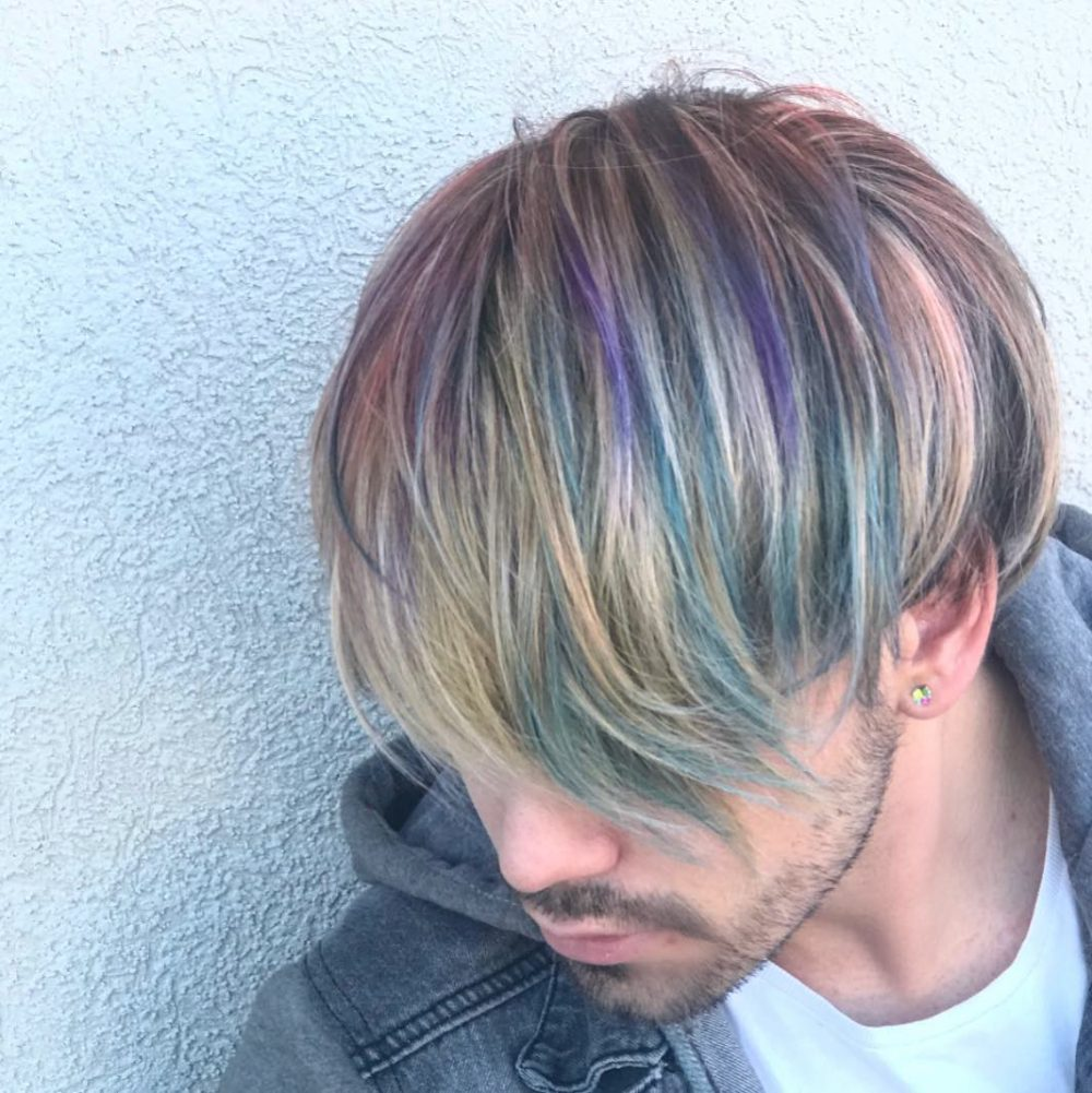 Aged Metal hairstyle