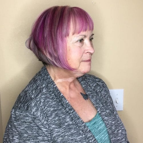 Ageless Spunk hairstyle for women over 50