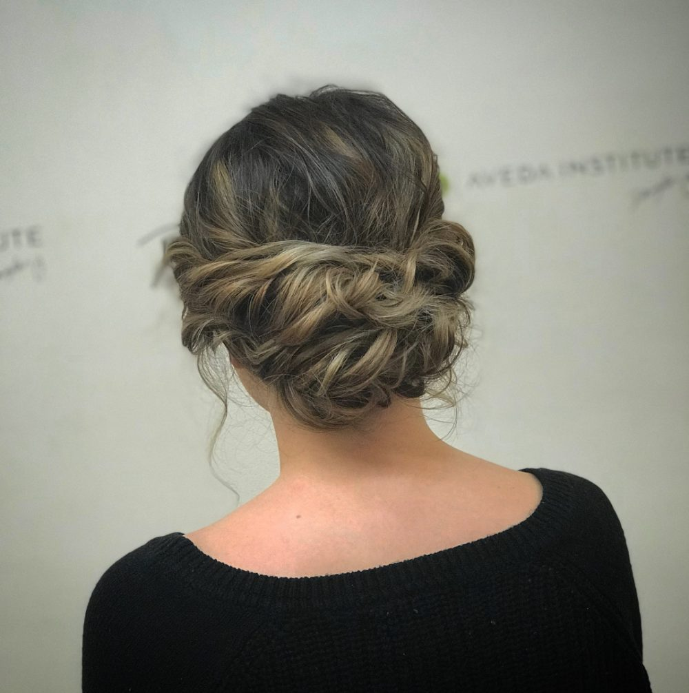 cute updo styles for short hair 24 cutest updos for hair of 2018 hairstyles 8627 | all occasion updo short updos
