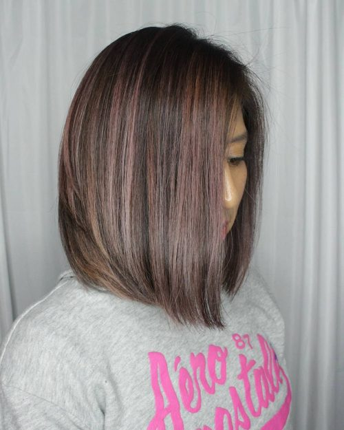 Picture of an awesomely a-line shoulder-length cut