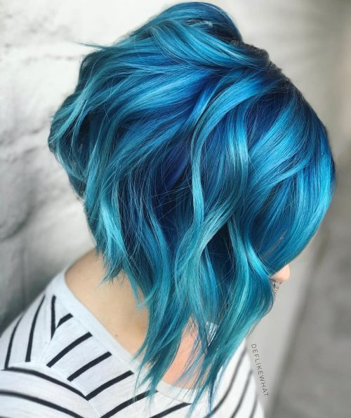 25 Stunning Blue Ombre Hair Colors
