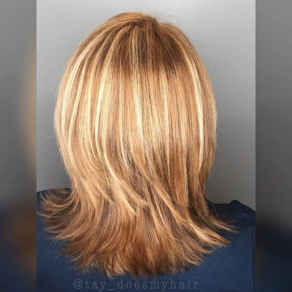 Golden Apricot hairstyle