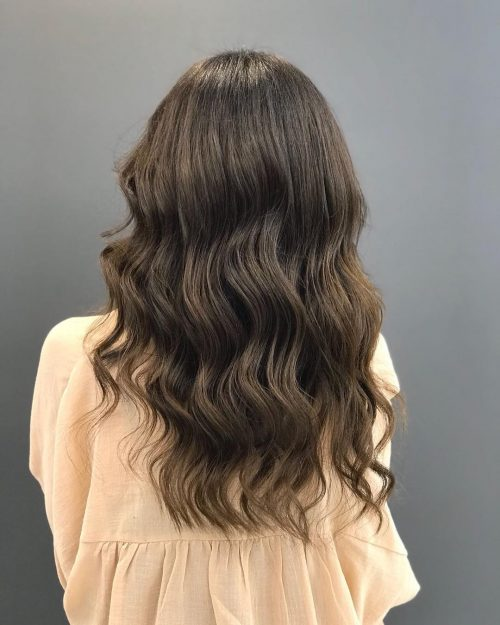 Ash auburn hair