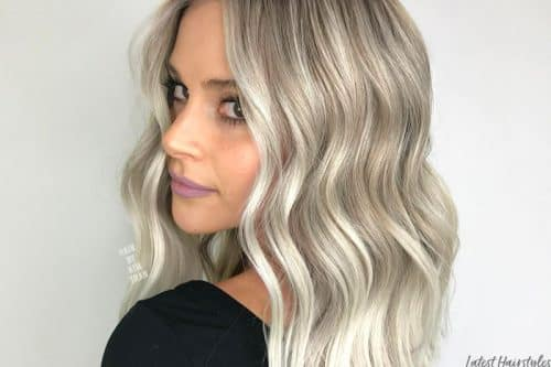 Ash blonde hair colors