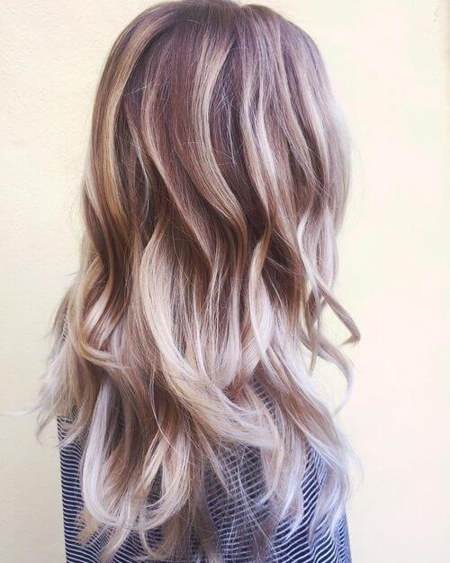 Surfer inspired ash platinum blonde hair color