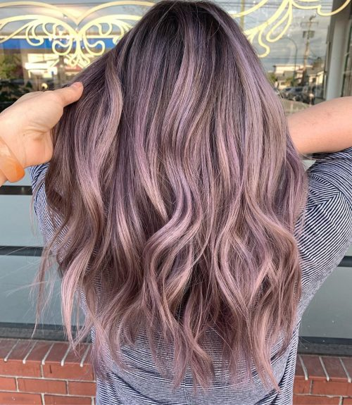18 Incredible Violet Hair Colors To