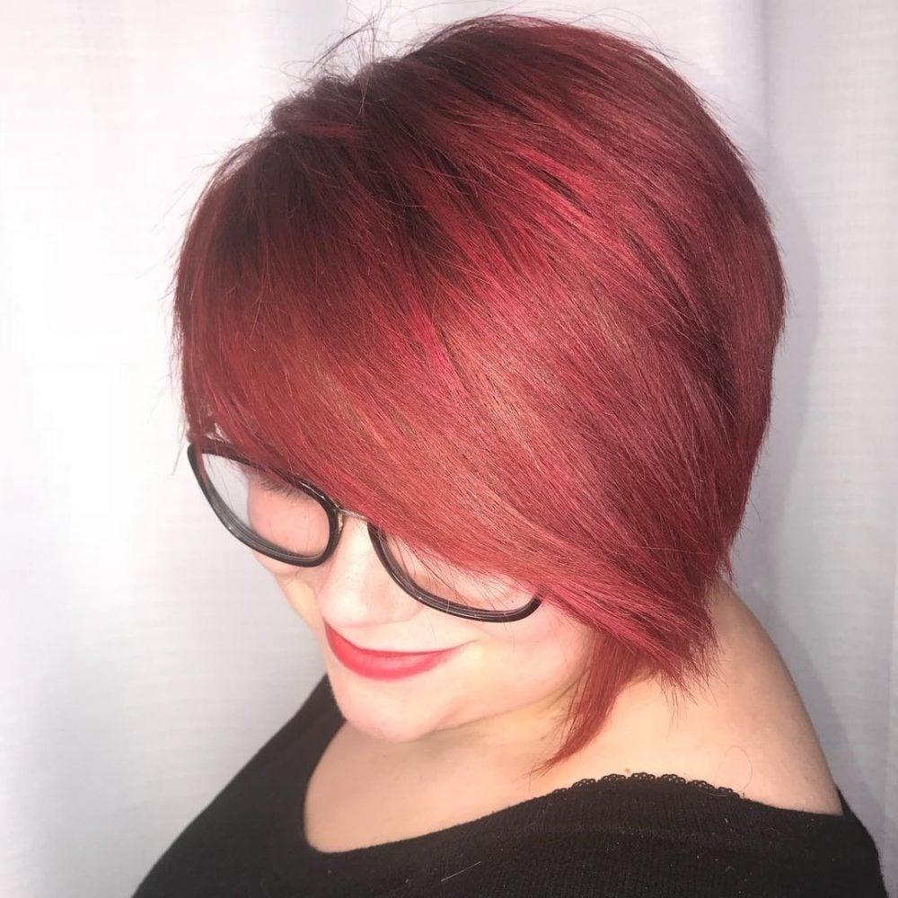 Asymmetrical Cut hairstyle