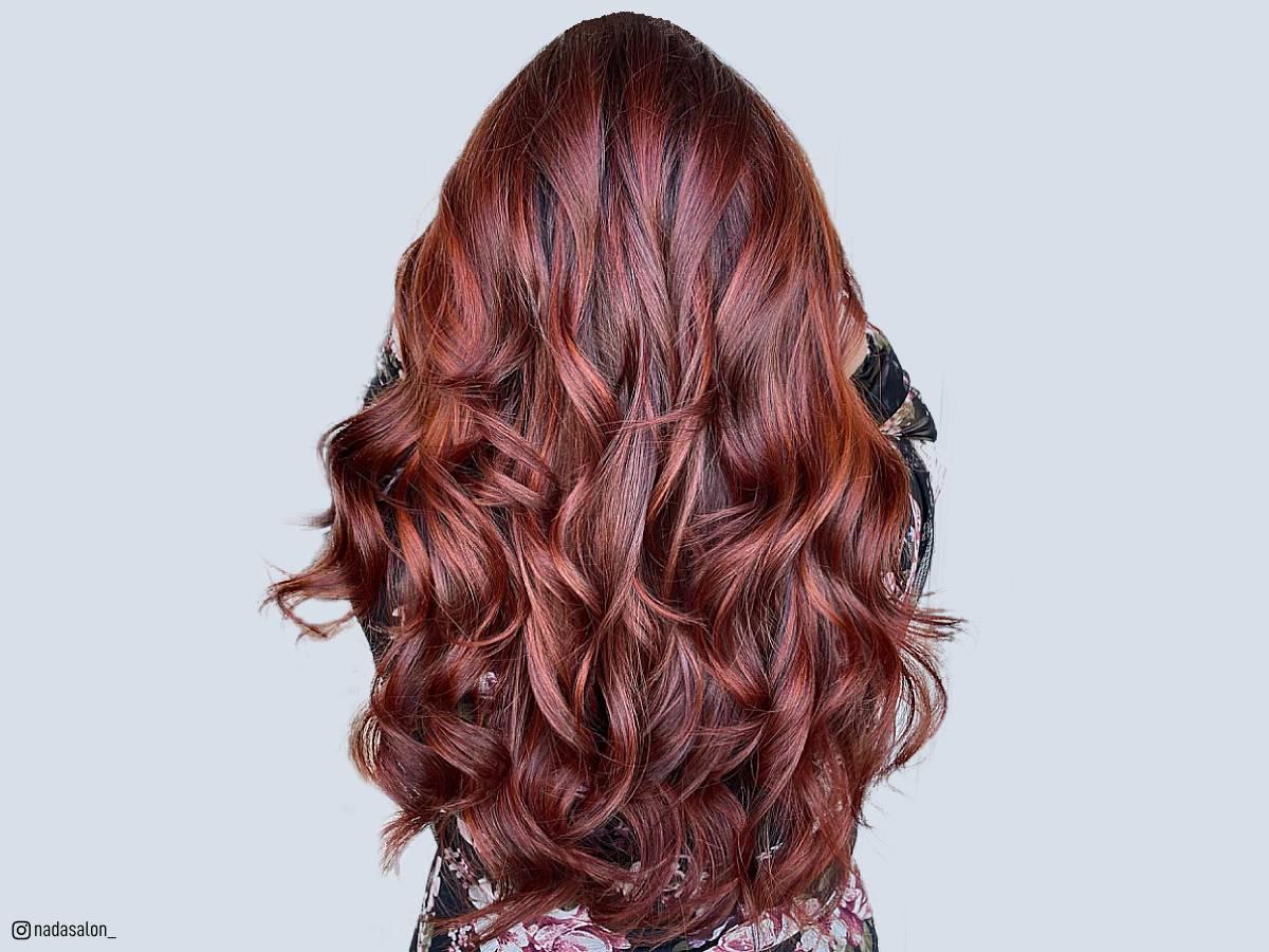 Dark Red Hairstyles 2019