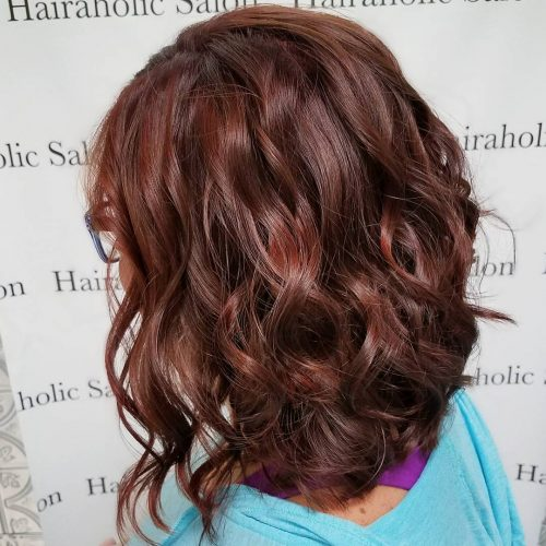 37 Best Red Highlights In 2020 For Brown Blonde Amp Black Hair