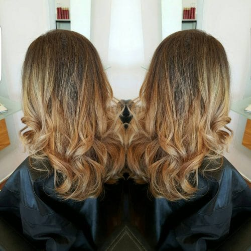 Autumn Ombre hairstyle