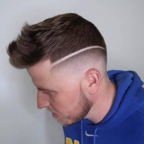 Peinado corto faux hawk