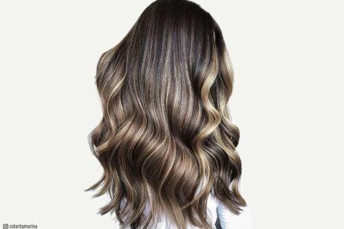 Balayage hair colors
