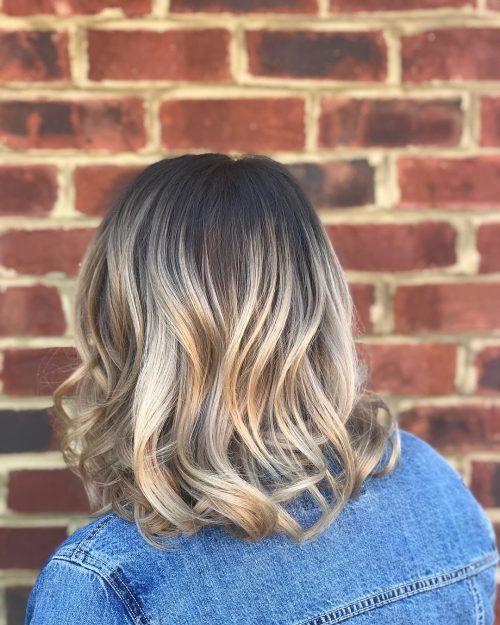 Balayage Ombre Bob hairstyle
