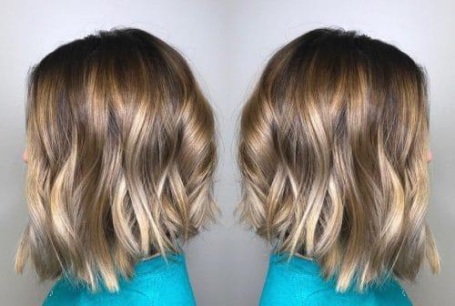 Balayaged Bob hairstyle