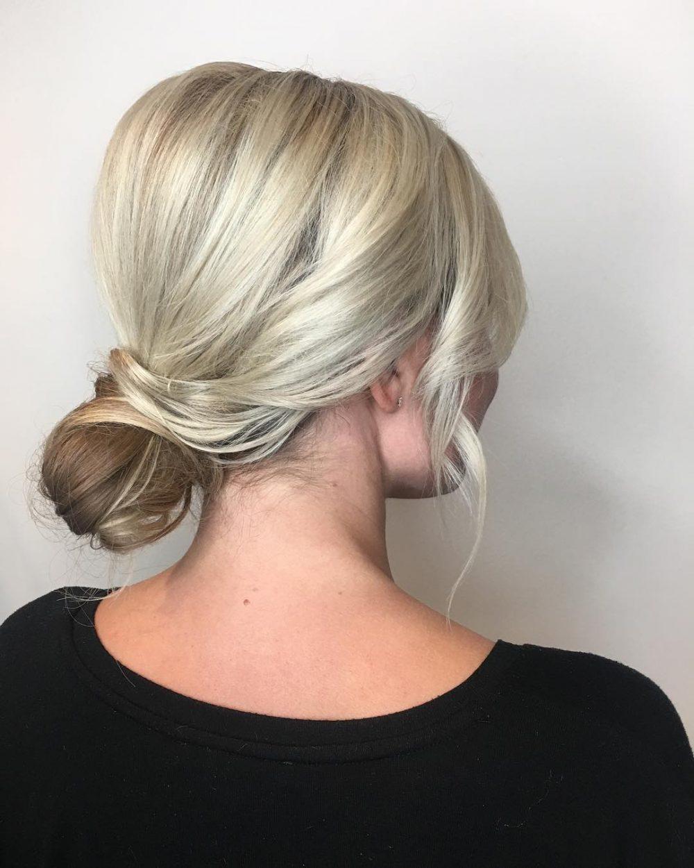 Basic Bun Upstyle hairstyle
