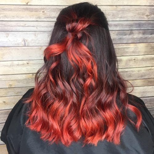 Bayalombre Fiery Red hairstyle