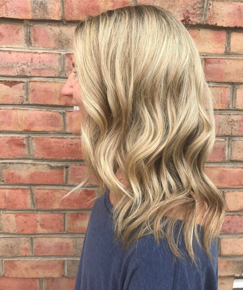 Beach Blonde hairstyle