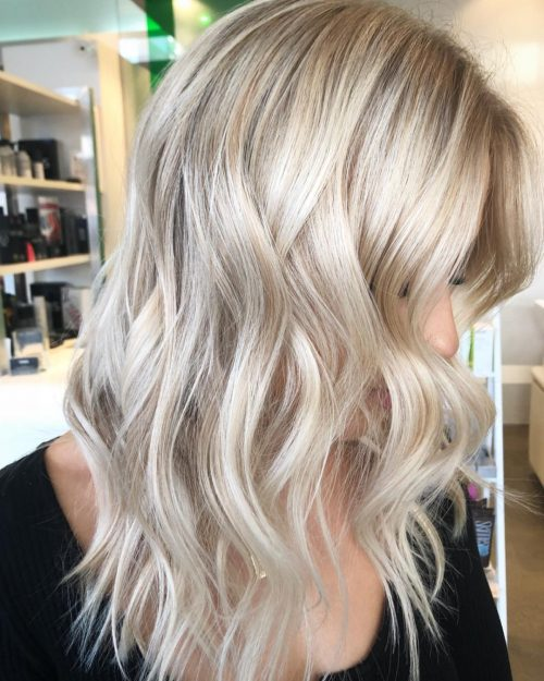 32 Best Platinum Blonde Hair Colors And Highlights For 2018