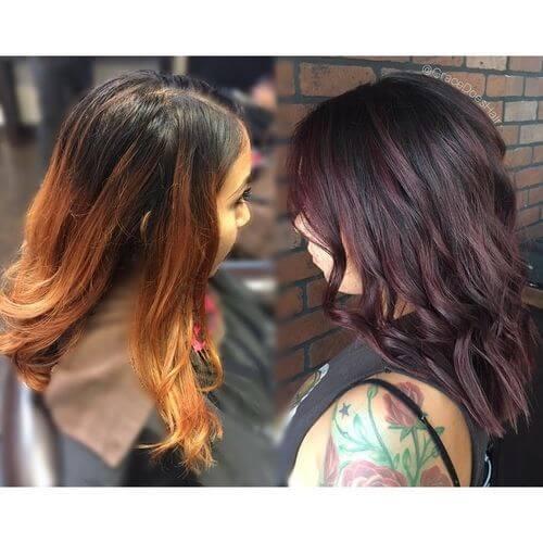 Mixing Hair Colors Chart