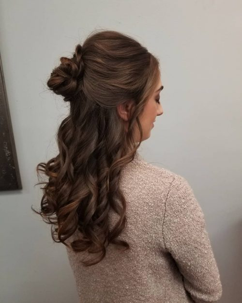 Picture of belle of the ball princess hairstyle