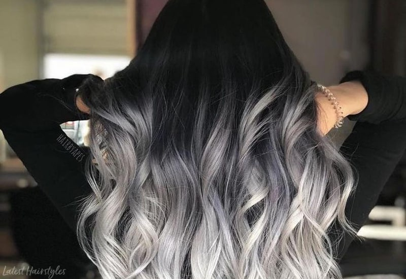 These 19 Black Ombre Hair Colors Are Tending In 2021