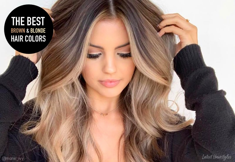 15 Stunning Examples Of Brown And Blonde Hair For 2020