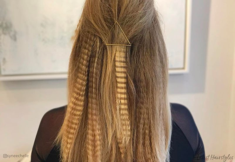15 Modern Ways To Style Crimped Hair