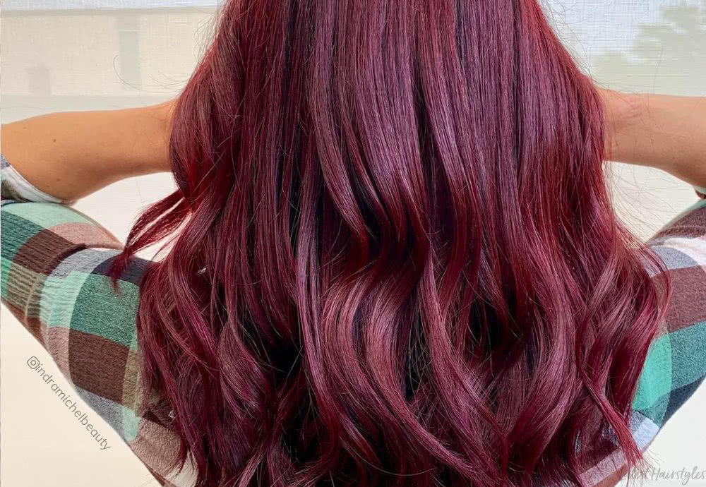 17 Jaw Dropping Dark Burgundy Hair Colors For 2020