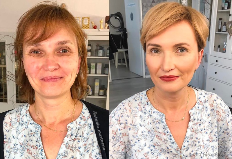 18 Flattering Haircuts For Women Over 40 In 2021