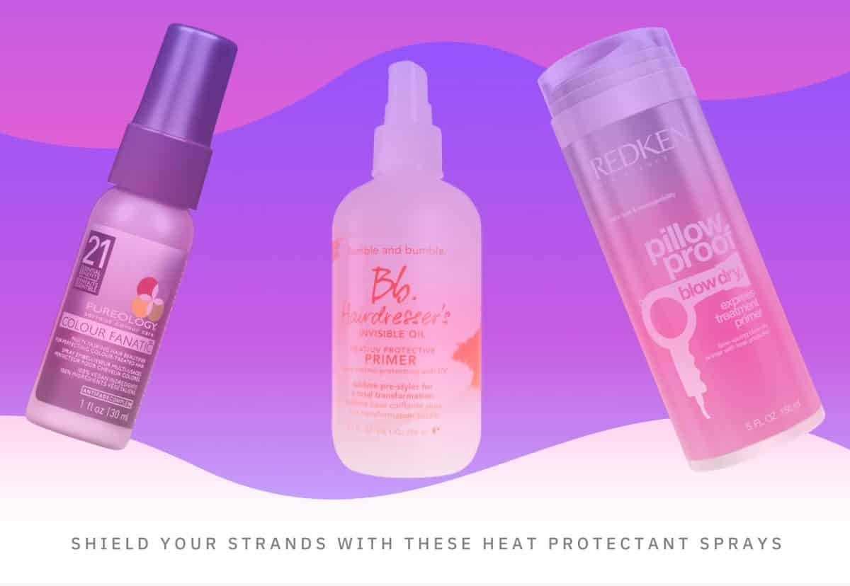 best heat protectant sprays for healthy hair
