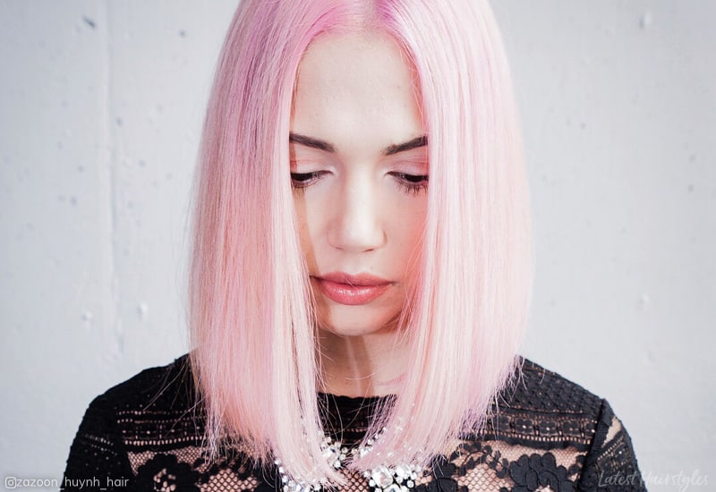 12 Prettiest Light Pink Hair Color Ideas For 2020