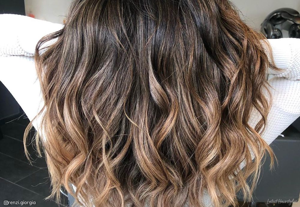15 Perfect Examples Of Lowlights For Brown Hair 2020 Looks