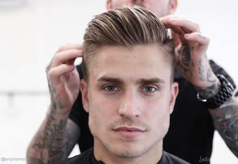 15 Best Comb Over Haircuts for Men in 2019 - Classic + Modern Styles