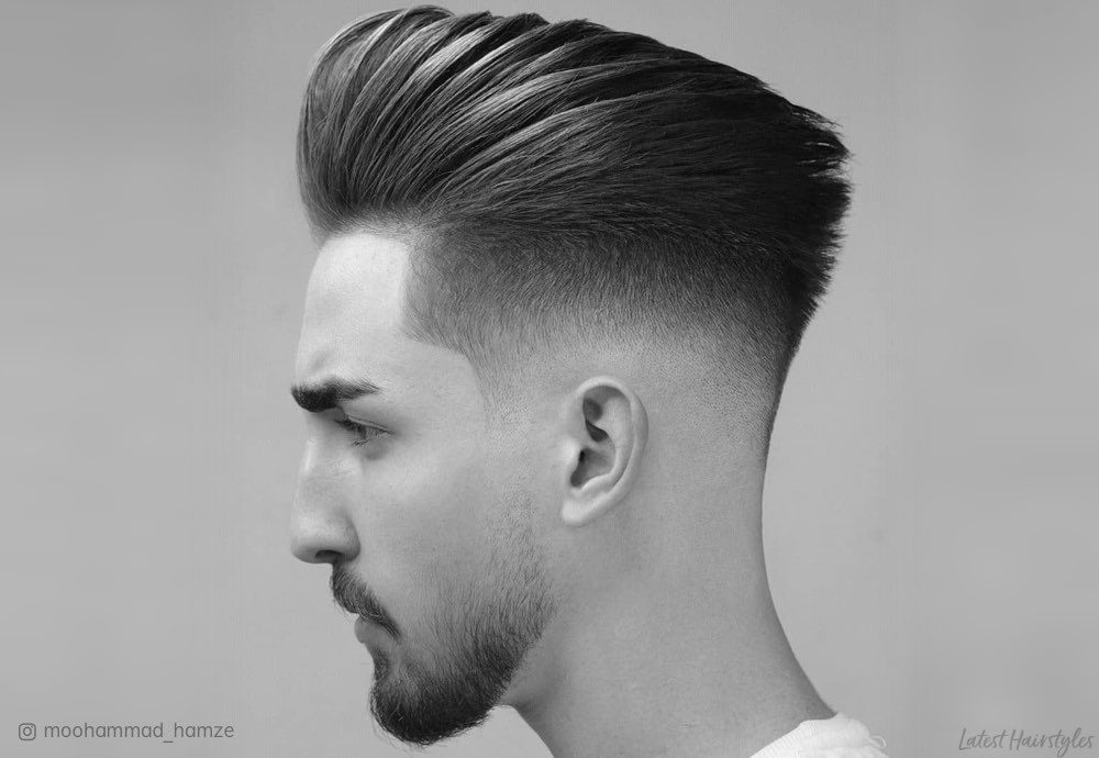15 Best Pompadour Fade Haircuts For Men In 2020