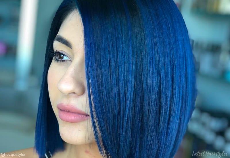 Dark Metallic Blue Color