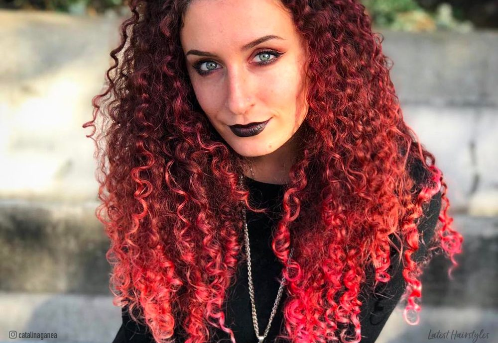 Tremendous Ombre For Curly Hair 14 Gorgeous Examples In 2020 Schematic Wiring Diagrams Amerangerunnerswayorg
