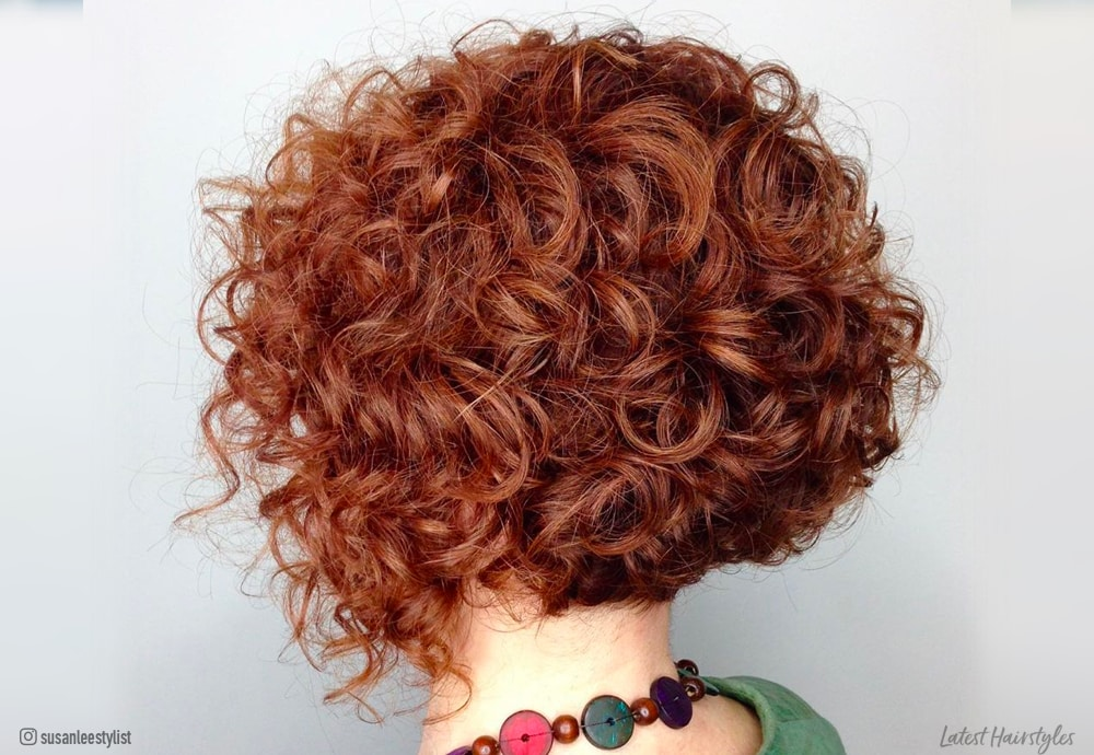 11 Cutest Short Curly Bob Haircuts For Curly Hair