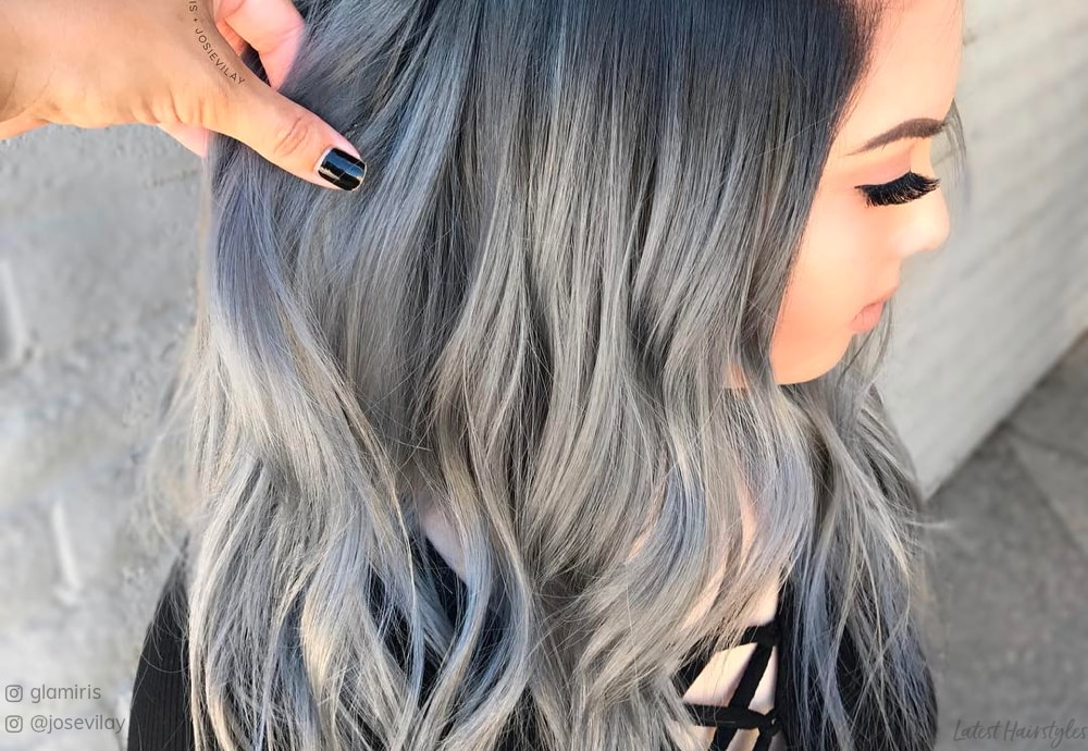 Silver Ombre Hair The 18 Hottest Examples Of 2021