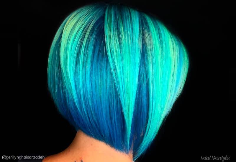 23 Incredible Teal Hair Color Ideas Trending In 2020