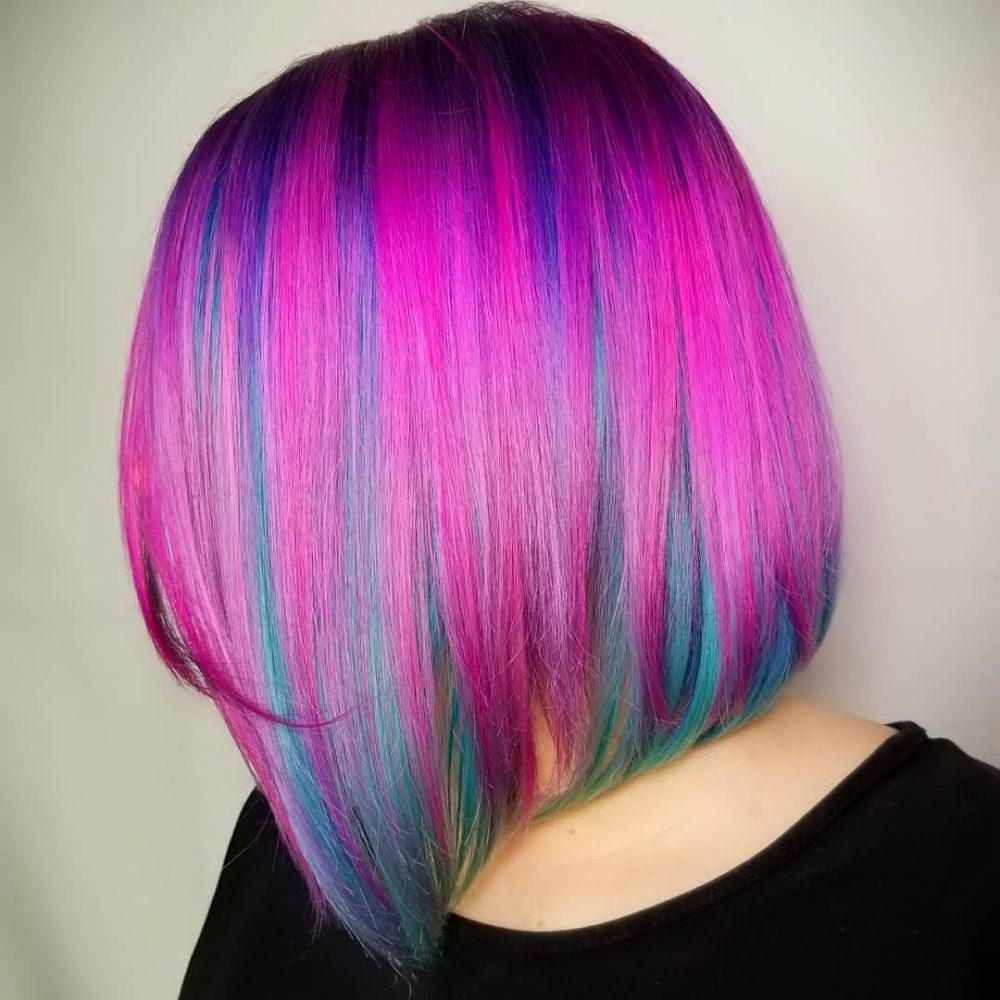 Bi-Color Bliss hairstyle
