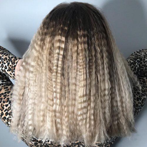 Big Crinkled Hair